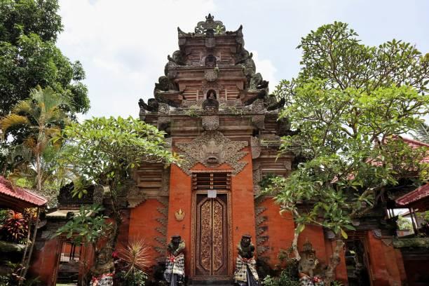 Puri Saren - Ubud Royal Palace Situated In The Heart Of Ubud Village