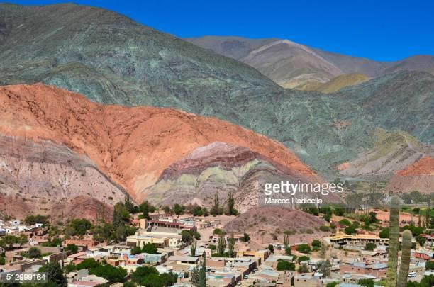purmamarca - radicella stockfoto's en -beelden