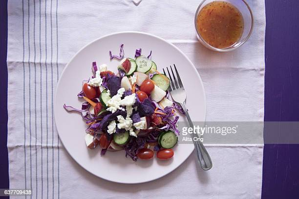 Purple and red salad