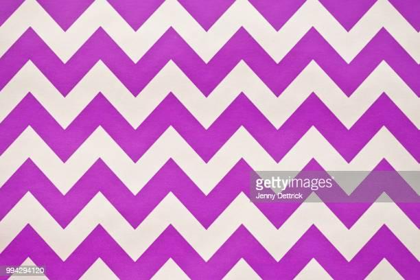 Purple and white chevron pattern