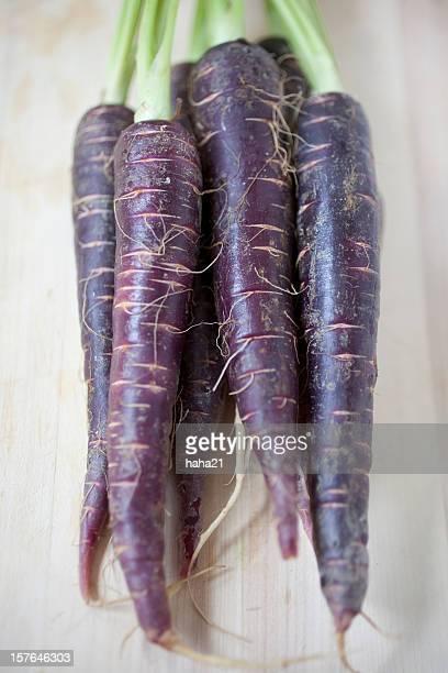 Violet carottes