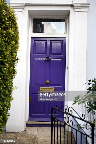 Purple Door in Townhouse