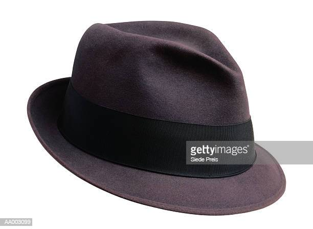 purple fedora - fedora stock pictures, royalty-free photos & images