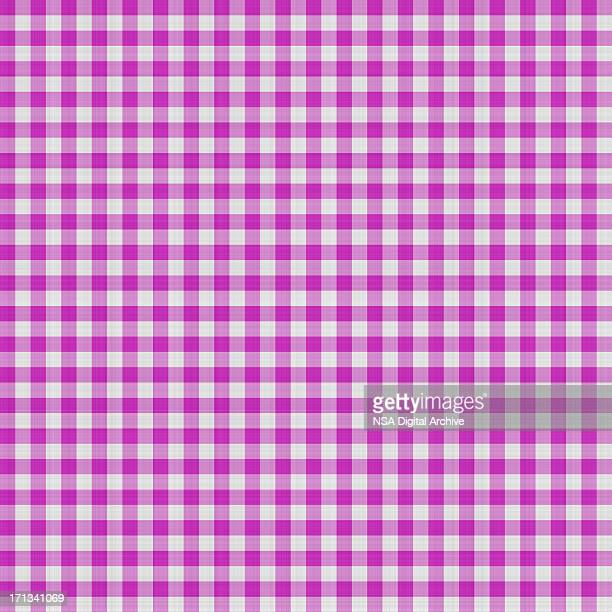 Purple Gingham Textile Pattern | Fabrics and Wallpapers