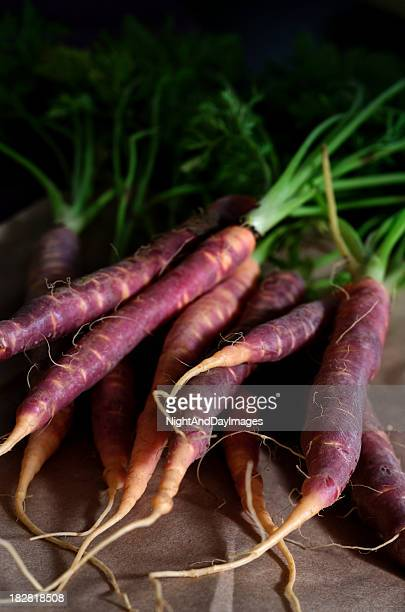 Purple Heirloom Carrots