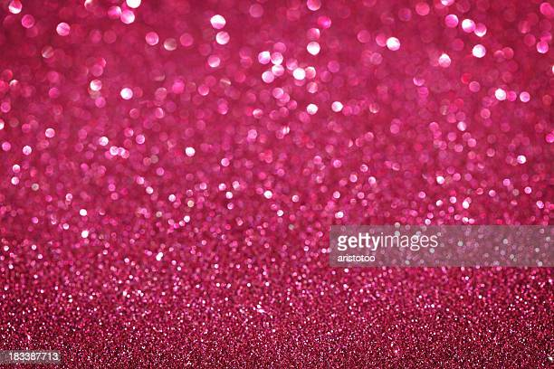 Purple / Pink Glitter Christmas Background