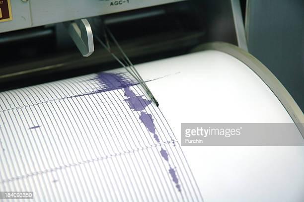 パープルの地震計