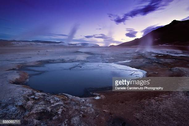 purple sky - daniele carotenuto stock pictures, royalty-free photos & images