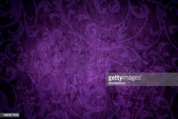 purple victorian background - victorian wallpaper stock pictures, royalty-free photos & images