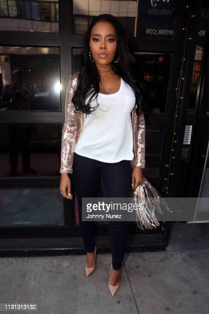 Purpose App CEO and Founder Angela Simmons attends the Purpose App Launch on March 17 2019 in New York City