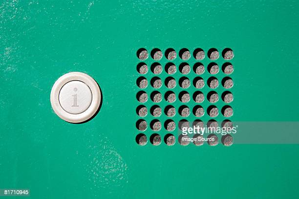 push button for information - intercom stock pictures, royalty-free photos & images