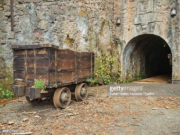 Push Cart By Abandoned Mine