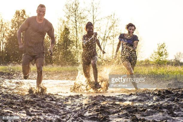 push the limits - obstacle course stock photos and pictures
