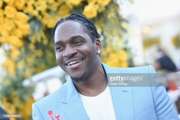 Pusha T attends 2019 Roc Nation THE BRUNCH on February 9, 2019 in Los Angeles, California.