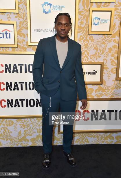 Pusha T attends Roc Nation THE BRUNCH at One World Observatory on January 27 2018 in New York City