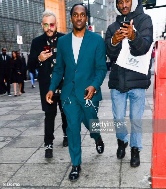 Pusha T attends Roc Nation THE BRUNCH on January 27 2018 in New York City