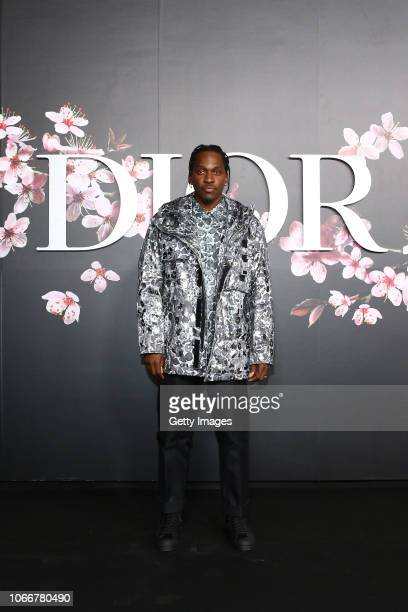 Pusha T attends the photocall at the Dior Pre Fall 2019 Men's Collection on November 30, 2018 in Tokyo, Japan.