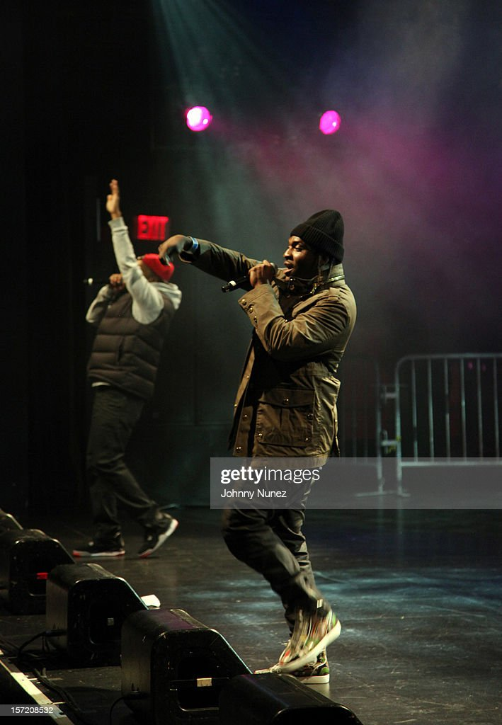 Pusha T performs at Best Buy Theatre on November 29, 2012 in New York City.