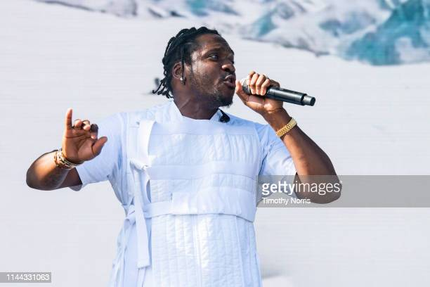 Pusha T performs during the 2019 Coachella Valley Music And Arts Festival on April 21 2019 in Indio California