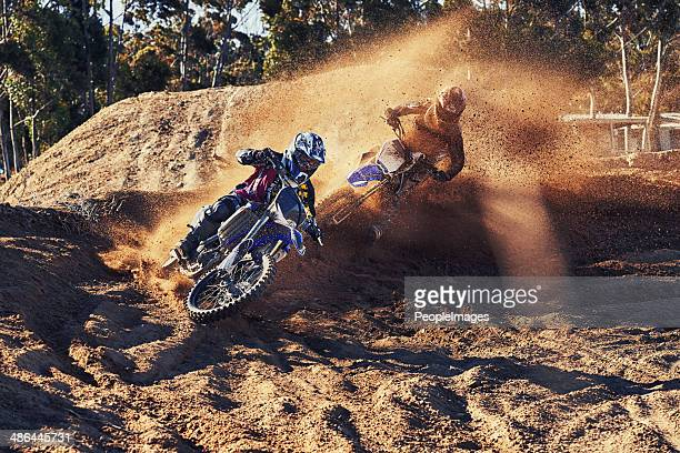 pushing him all the way - scrambling stock photos and pictures