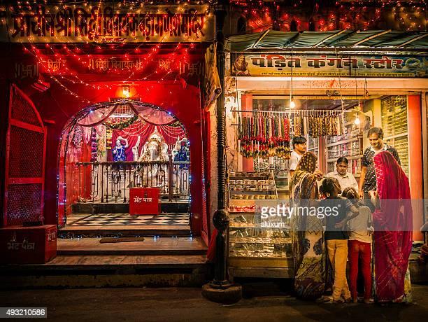 Pushkar at night Rajasthan India