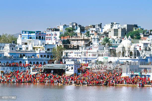 pushkar camel fair - pilgrimage stock pictures, royalty-free photos & images