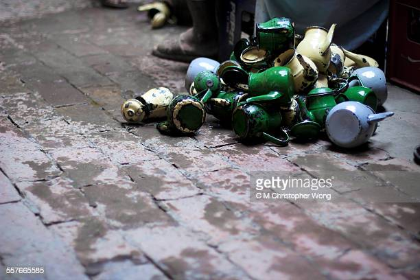 pushtun teapots - pashtun stock photos and pictures