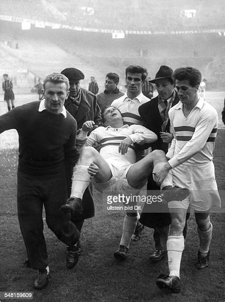 Puskas, Ferenc *-+ Fussballspieler, Fussballtrainer, Ungarn Mitglied d. Ungarischen Nationalelf 1945-1956 Mitglied d. Spanischen Nationalelf...