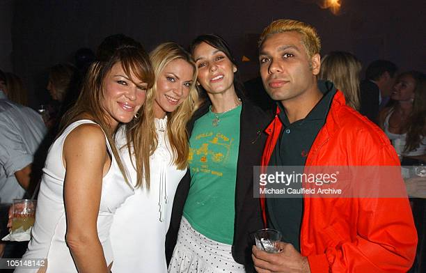 """Pussycat Dolls and Tony Kanal during Maxim Magazine Annual """"Hot 100"""" Party - Inside at SoHo in Hollywood, California, United States."""