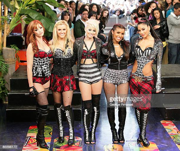 Pussycat Dolls Visit MuchOnDemand at the MuchMusic HQ on March 17 2009 in Toronto Canada