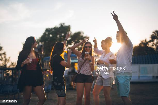 put a hands up in the air - after party stock pictures, royalty-free photos & images