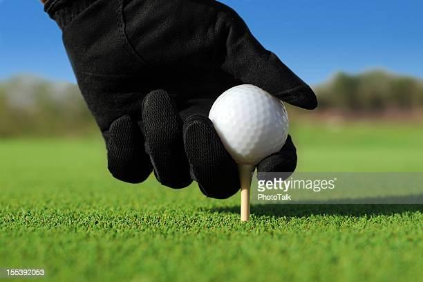 Put Golf Ball On The Tee - XLarge