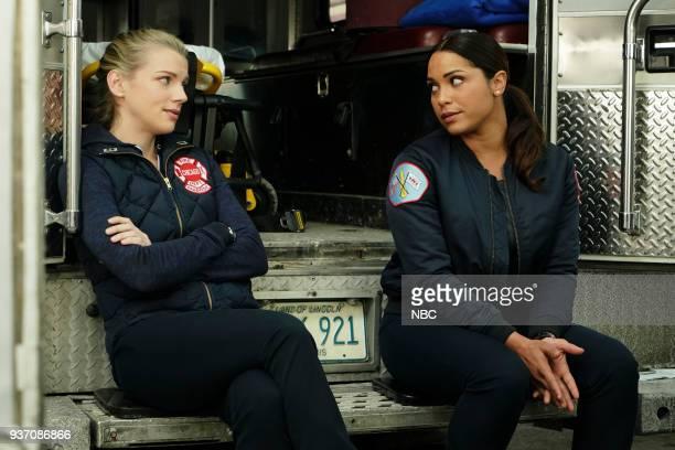 FIRE 'Put White On Me' Episode 617 Pictured Kara Killmer as Sylvie Brett Monica Raymund as Gabriela Dawson
