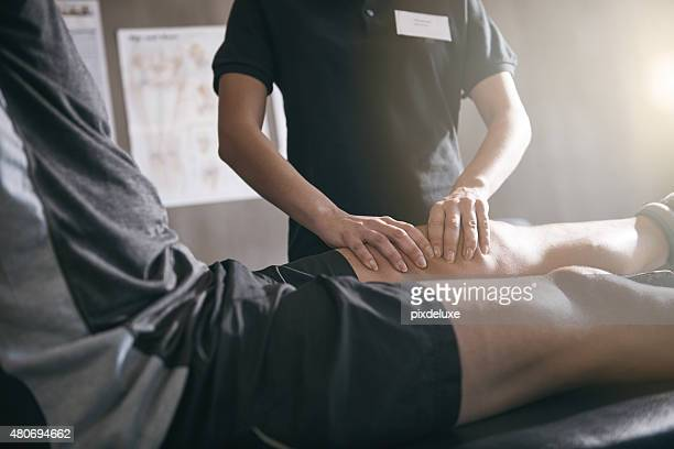 Coloque su dolor en las manos de un profesional