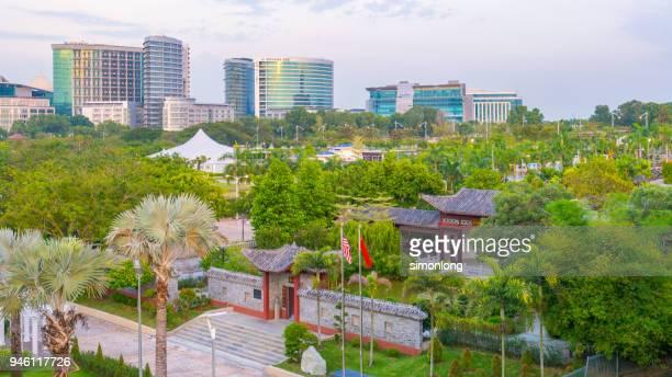 putrajaya cityscape , malaysia - putrajaya stock pictures, royalty-free photos & images
