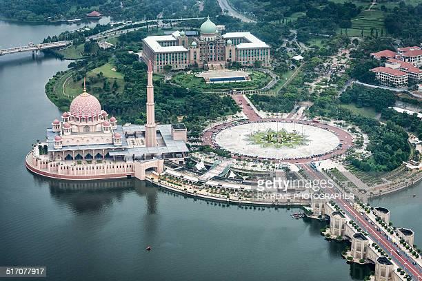 Putrajaya from the air