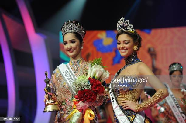 miss putri indonesia stock photos and pictures getty images