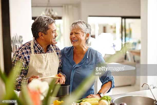 Putting viel Liebe in Ihre Mahlzeit