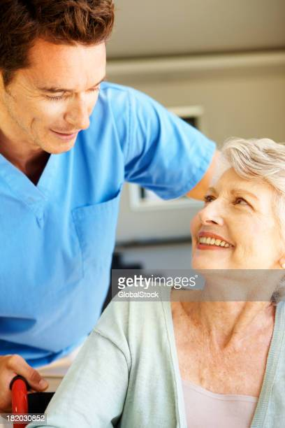 Putting her at ease - Senior Healthcare