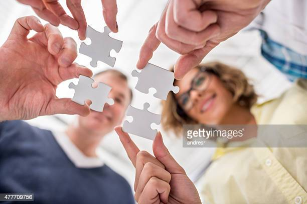 Putting pieces of a puzzle together