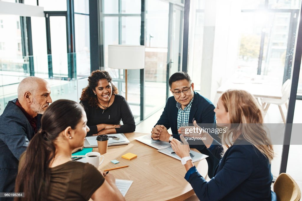 Putting plans into motion : Stock Photo