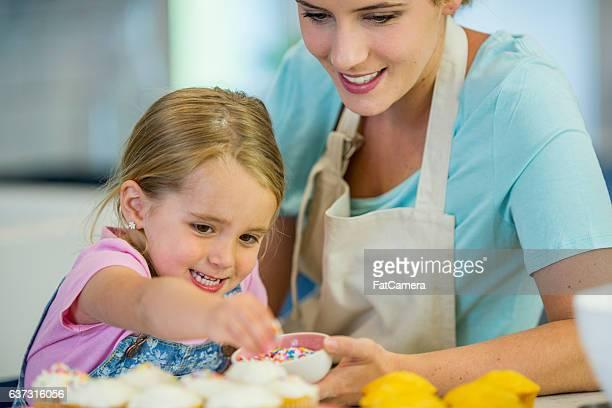 Putting Sprinkles on Cupcakes