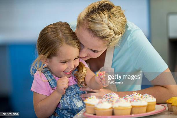 Putting Sprinkles on the Cupcakes