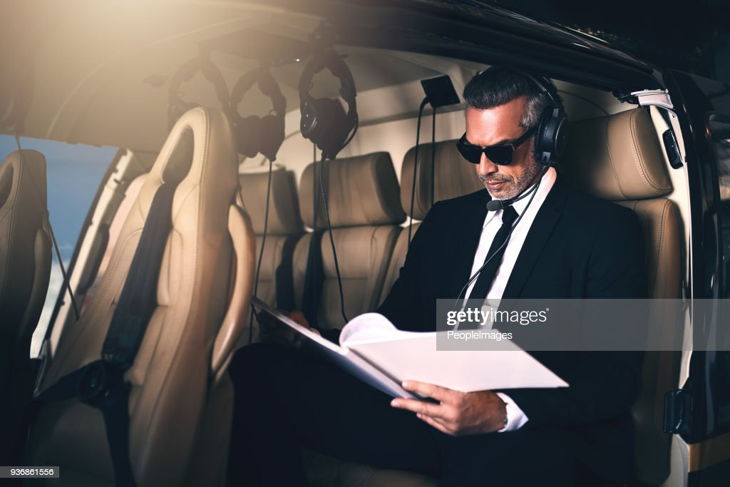Putting those business plans in motion : Stock Photo