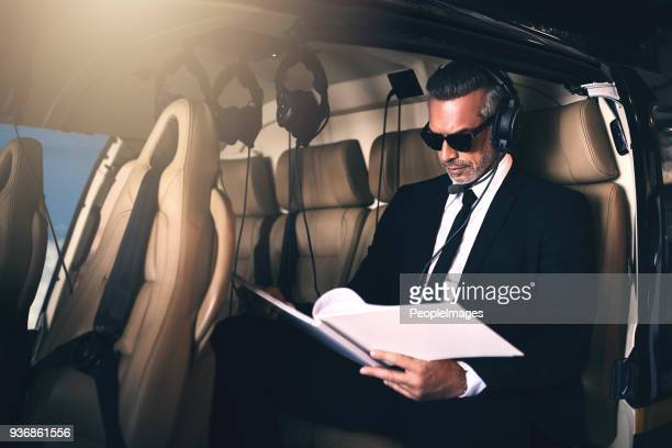 putting those business plans in motion - inside helicopter stock pictures, royalty-free photos & images