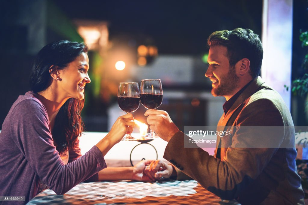 Putting time and effort into their relationship : Stock Photo