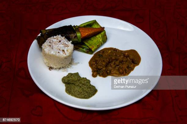 Puttu with side dishes 1
