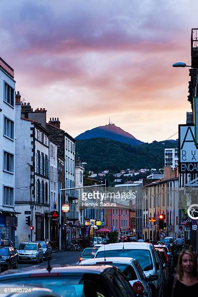 Puy-de-Dome volcano seen from Clermont-Ferrand