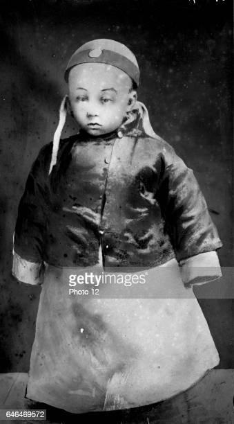PuYi as a small child 23 February 1909 last Emperor of China