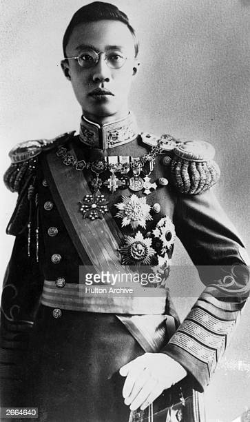 PuYi last emperor of China and first of Manchukuo